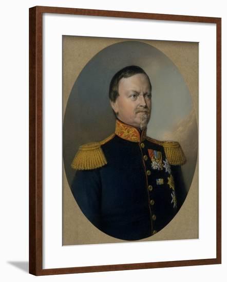 Carl Bernhard, Duke of Saxe-Weimar-Eisenach-Berthold Woltze-Framed Giclee Print