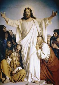Christ the Consoler by Carl Bloch