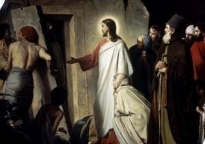 Lazarus by Carl Bloch