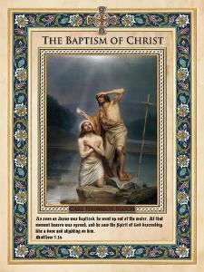 The Baptism of Christ by Carl Bloch