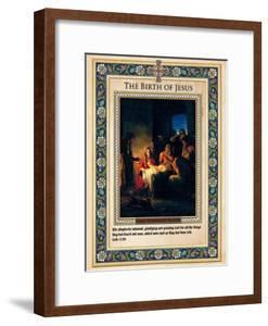 The Birth of Jesus by Carl Bloch