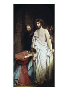 The Doubtful Thomas by Carl Bloch
