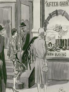 "Vogue - April 1929 by Carl ""Eric"" Erickson"