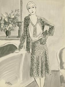 "Vogue - August 1929 by Carl ""Eric"" Erickson"