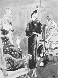 "Vogue - August 1935 by Carl ""Eric"" Erickson"