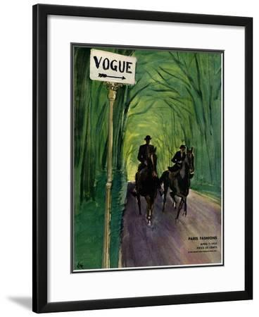 Vogue Cover - April 1932