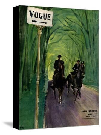 Vogue Cover - April 1932