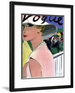 "Vogue Cover - April 1933 by Carl ""Eric"" Erickson"