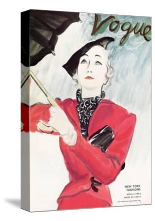 Vogue Cover - April 1934