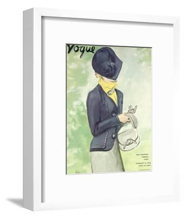Vogue Cover - February 1936
