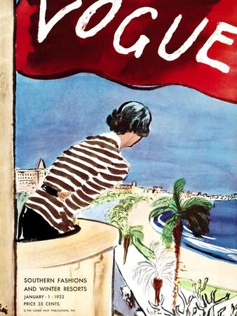 Vogue Cover - January 1932