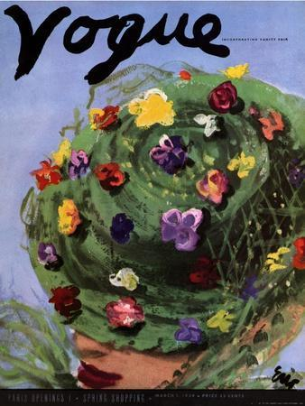 Vogue Cover - March 1939