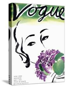 """Vogue Cover - May 1931 by Carl """"Eric"""" Erickson"""