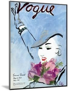 """Vogue Cover - May 1935 by Carl """"Eric"""" Erickson"""