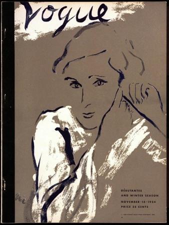 Vogue Cover - November 1934