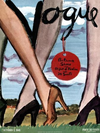 Vogue Cover - October 1941