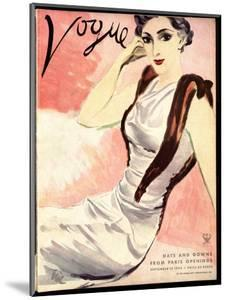 "Vogue Cover - September 1933 by Carl ""Eric"" Erickson"