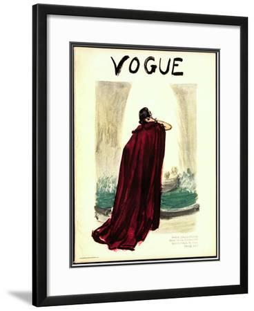 Vogue Cover - September 1935
