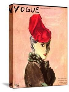 "Vogue Cover - September 1936 by Carl ""Eric"" Erickson"