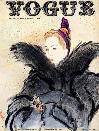 Vogue Cover - September 1937