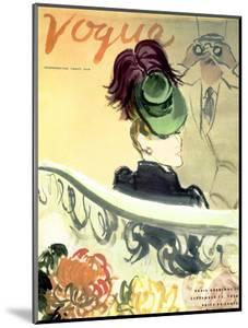 "Vogue Cover - September 1938 by Carl ""Eric"" Erickson"