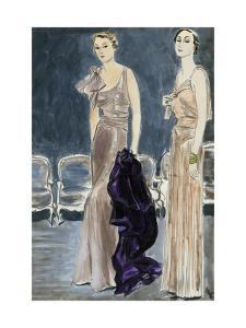 "Vogue - January 1933 by Carl ""Eric"" Erickson"
