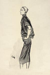 "Vogue - June 1952 by Carl ""Eric"" Erickson"