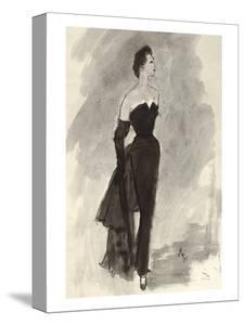 "Vogue - October 1954 by Carl ""Eric"" Erickson"