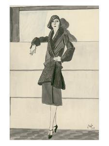 "Vogue - September 1929 by Carl ""Eric"" Erickson"