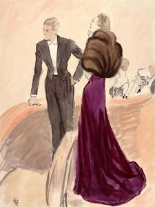 "Vogue - September 1936 by Carl ""Eric"" Erickson"