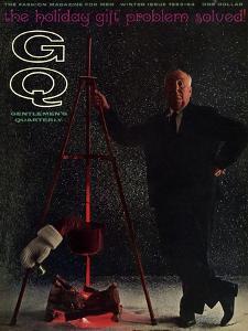 GQ Cover - December 1963 by Carl Fischer
