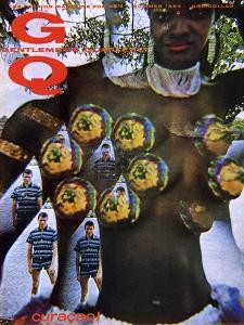 GQ Cover - June 1964 by Carl Fischer
