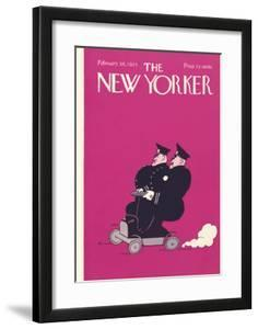 The New Yorker Cover - February 28, 1925 by Carl Fornaro