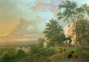 A View from the Terrace, Richmond Hill by Carl Frederic Aagaard