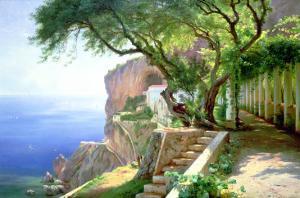 Amalfi by Carl Frederic Aagaard