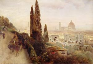 Florence by Carl Frederic Aagaard