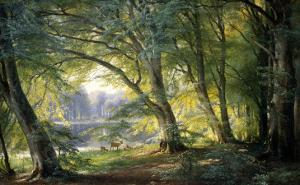 Forest Glade by Carl Frederic Aagaard