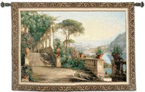 Lodge at Lake Como by Carl Frederic Aagaard