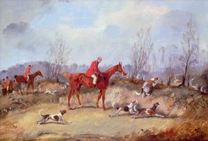 Tally Ho! Samuel Henry Alken (1810-1894), Aka Henry Alken, Jun by Carl Frederic Aagaard