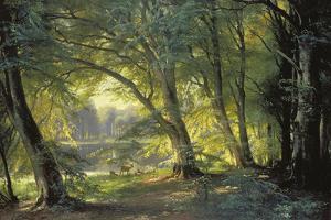 The Deer Park by Carl Frederic Aagaard