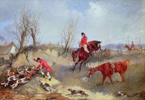 The Kill, Aka Henry Alken, Jun by Carl Frederic Aagaard