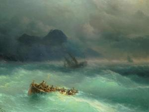 The Shipwreck, 1873 by Carl Frederic Aagaard