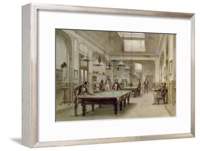A Billiard Room, 1861