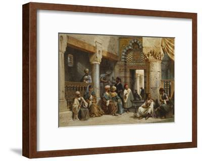 Arab Figures in a Coffee House, 1870