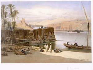 Assuan, 1871 by Carl Friedrich Heinrich Werner