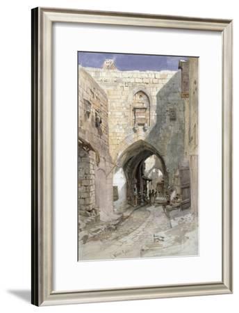 David's Strasse, Jerusalem, 1862