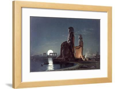 The Colossi of Memnon, Thebes, c.1872