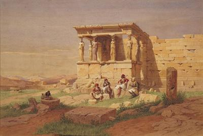 The Erechtheion, the Porch of the Caryatids, 1877
