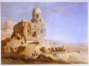 Tombs of the Khalifs, Cairo, 1871 by Carl Friedrich Heinrich Werner