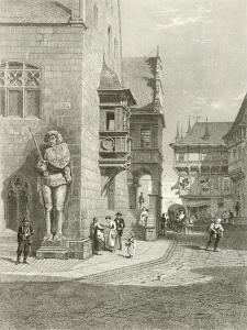 Town Hall, Halberstadt by Carl Friedrich Heinrich Werner